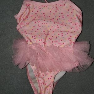 Adorable 2t Tutu Sprinkle Swimsuit